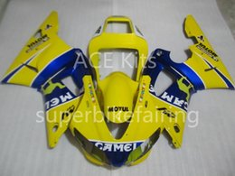 $enCountryForm.capitalKeyWord Australia - 3Gifts New Hot sales bike Fairings Kits For YAMAHA YZF-R1 1998 1999 R1 98 99 YZF1000 Cool Yellow Blue SX11