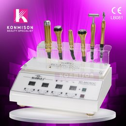 5 in 1 Cooling BIO RF Skin tightening facial care mesotherapy machine for nutrition absorption DHL Free Shipping on Sale