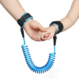 Harness Carry Toddler NZ - Child Anti Lost strap Safety Wristband Safety leashes Anti-lost Wrist Link Band Baby Toddler Harness Leash Strap Adjustable Braclet