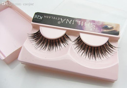Shilina Faux Cils Pas Cher-Vente en gros! SHILINA k26 Faux cils 1 paire Hand-made Fake Lashes Soft Naturel Long Eye Lashes Extension Professional Maquillage
