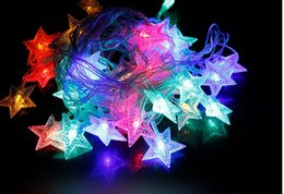 $enCountryForm.capitalKeyWord NZ - Pentagram shaped 6m 50LED christmas Xmas LED Strings Starry Fairy lights outdoor light white warm white star AA Battery operated