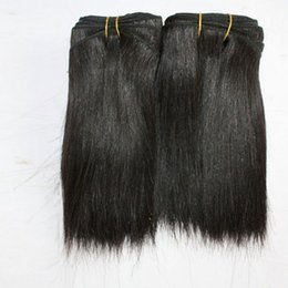 Chinese  100g piece 2pcs lot short black natural curly brazilian hair extensions cuts short hair styles for women manufacturers
