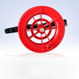 Venta al por mayor de Kite String Line New Grip Manija Herramienta Accesorios Reel Rojo Rueda Neumático Alambre Flying Belt Kites Spool Top Calidad 4hy F