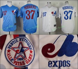 huge discount 8e8ab a056e coupon code for montreal expos 37 rodgers blue throwback ...