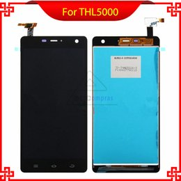 online shopping For THL Original Good Quality In Stock LCD Display Touch Screen Glass Assembly Replacement THL