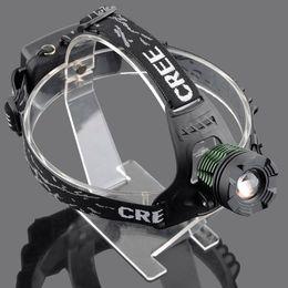 Discount cree outdoor lighting - AloneFire k12 CREE XML T6 LED Headlamp Headlight xml-t6 zoom headlight fishing light outdoor lighting