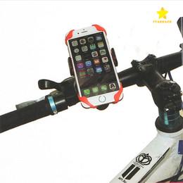 2017 Yeni Evrensel Cep Telefonu Bisiklet Montaj Tutucu Bisiklet Standı Tutucular Telefon Tutucu Iphone 7 Için Silikon Destek Band Ile Artı Samsung S8