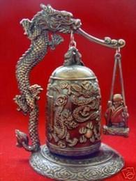Brass dragon Bell online shopping - Excellent Tibet Dragon buddha Bell