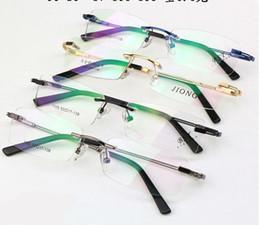 $enCountryForm.capitalKeyWord Canada - Retail 1pcs rimless optical frames men women fashion eyewear for prescription 1105