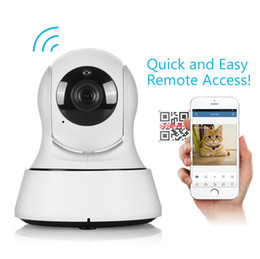 Outdoor Wireless Wifi Ip Camera Hd Canada - SANNCE Wifi IP Camera Wireless Table Clock Alarm 720P HD Mini In Outdoor Home Security Surveillance CCTV IR Night Vision DVR Baby Monitor