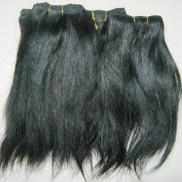 hair sisters wholesale UK - Good sister Love Weave processed Indian straight wavy natural hairs 8pcs lot wholesale lowest surprise price