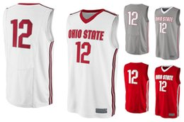 2 Ohio State Buckeyes Men College Basketball Jersey Embroidery Athletic  Outdoor Apparel Mens Sport Jerseys Size S-3XL 8a1e37753