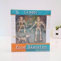 $enCountryForm.capitalKeyWord Canada - 3-8cm Pose Skeleton Human Child Dog Skeleton Body Chan Ver Body Kun Youth Cartoon Toy Action Figure Model Doll
