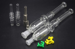 $enCountryForm.capitalKeyWord Australia - New Hot Sales 10mm 14mm Mini Glass Bongs With Titanium Nail Quartz Tip Honey Straw Micro Nc Oil Rig Glass Water Pipe