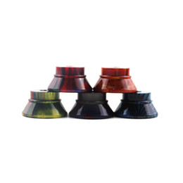 Display stanDs exhibition online shopping - Epoxy Resin Base RDA RBA RTA Tank Clearomizer Atomizer Big Stand Holder Exhibition thread Display for Vape Tank E Cig Metal
