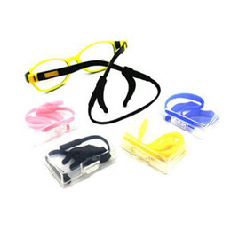 China 20pcs lots mixed color New Arrival Wholesale Sport Eyeglasses Sunglasses Children Kids Glasses chain cord holder String set suppliers