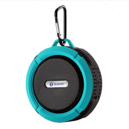 $enCountryForm.capitalKeyWord Australia - C6 Mini Portable Stereo 4.1 Outdoor Wireless Bluetooth Speaker Waterproof Sound Box With Calls Handsfree Suction Cup For Bluetooth Devices
