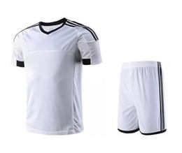 6990c029f1bd6 Superventas Popular Running raya vertical equipo de fútbol respirable  absorbente juegos deportivos trajes de camisa de