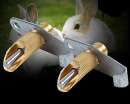 1000set Nipple Water Feeder Drinker Waterer For Rabbit Nipple Drinker  Waterer Poultry Feeder Bunny Rodent Mouse