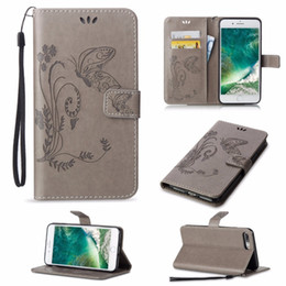 Huawei Nexus 6p Case Australia - Embossed Butterfly Purse Holster Insert Cards Leather Case Cover For Huawei Mate 8 NEXUS 6P Glory 5X Glory 4C Y550 P9 P8 Lite Y560