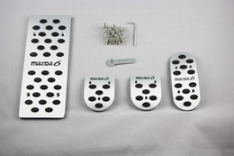 $enCountryForm.capitalKeyWord Canada - Car Accessories For Mazda 6 Mazda6 M6 Mechanical MT 2005-2009 Gas Brake Clutch Accelerator Pedal Pedale Pad Stickers Styling