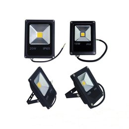 red outdoor flood lights 2019 - Ultrathin LED Flood Light 10W 20W 30W 50W Black AC85-265V Waterproof IP65 Floodlight Spotlight Outdoor Lighting Landscap