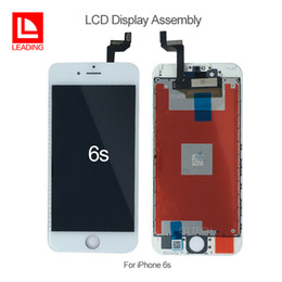 iphone 6s screens NZ - 100% Test For iPhone 6S 4.7 inch LCD Display Screen With 3D Touch Display Assembly Replacement high screen Free DHL
