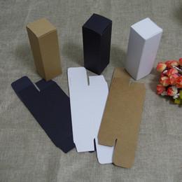 Packaging For Lipstick Australia - 100pcs lot free shipping 10 20 30ml 50 100ml oil dropper bottle kraft Paper Packaging Box DIY Lipstick Perfume packing box for tubes