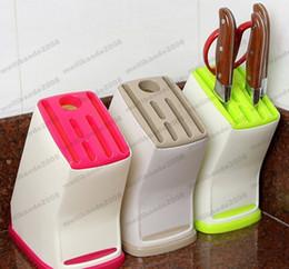 $enCountryForm.capitalKeyWord Canada - Kitchen Plastic Multifunction Knife Storage Rack Block Holder Stand free shipping MYY