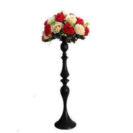 $enCountryForm.capitalKeyWord UK - 69 CM Height Metal Candle Holder Candle Stand Wedding Centerpiece Event Road Lead Flower Rack 20 PCS   Lot