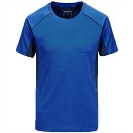 mode respirant chemise de sport-séchage rapide des hommes en Solde