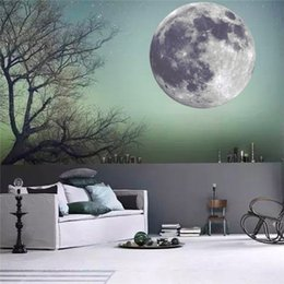 Wall Stickers Kids Fashion Creative DIY Carved Bedroom Luminous Big Earth  Removable Decorating Art Sticker Decor 2017 3d Stickers Wholesale
