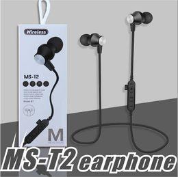 $enCountryForm.capitalKeyWord NZ - MS-T2 Bluetooth Headphones Sweatproof Sports Earphones Wireless Headset TF Card Magnetic attraction Earbuds for iphone X 8 plus Samsung LG