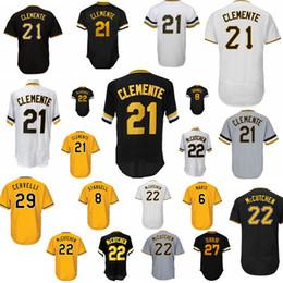 1a6128db01b Men jerseys 21 Roberto Clemente 22 Andrew McCutchen 27 Kent Tekulve 29  Francisco Cervelli retro Mesh Flex Base jersey 100% Stitched cheap clemente  jerseys ...