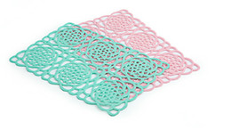 $enCountryForm.capitalKeyWord UK - Qualited TPE Weave Placemat Bar Plate Mat Cushion Rugs Matting Sets Discount Dinner Table Coaster Knit Pad Covering