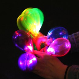 Discount wedding favors light up LED Flashing Glowing Maracas Kids Light-Up Toys Bar Concert KTV Cheer Props Party Supplies Wedding Favors Gift