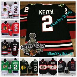 cc5131f7a ... 2 Duncan Keith Jersey Chicago Blackhawks Ice Hockey Jerseys 2015  Champions 100 Anniversary Patch 2017 Winter Winter Classic ...
