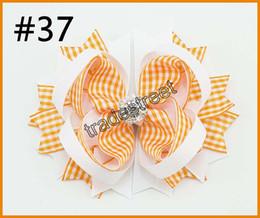 Silver diamond hair bowS online shopping - 50pcs rhinestone hair bows crystal layered hair clips diamond silver shinne hair bows popular