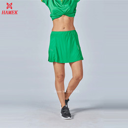 $enCountryForm.capitalKeyWord Canada - Wholesale- Women's Tennis skirts Tennis Training Clothes Female Golf Badminton Skirts Soild Colors Team Sport Skorts High Quality 2017 New