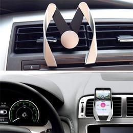 M Modell Halter Universal Einstellbare Halter Air Vent Halterung Unterstützung Telefon Halterung Stehen In Auto Telefon Für iPhone 8 Samsung note 8 Neu