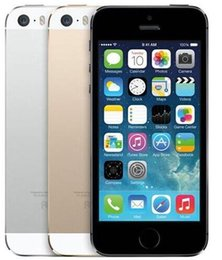 """iphone 5s 16gb black 2019 - Refurbished Original Apple iPhone 5S With Touch ID 64GB 32GB 16GB iOS 8 4.0"""" IPS HD Dual Core A7 8MP"""
