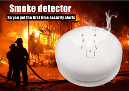 Gsm Smoke Fire Alarm Australia - Wireless Fire Smoke Detector WIFI GSM Home Security Smoke Alarm Sensor For Touch Keypad Panel wifi GSM Home Security System