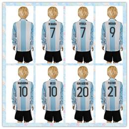 fast uniforms kit 2016 2017 argentina 7 dybala 9 higuain 10 messi soccer jersey white stripe