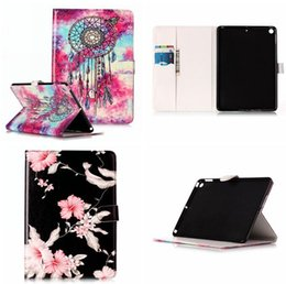 """$enCountryForm.capitalKeyWord Canada - Marble Flower PU Leather Case Pouch For Ipad Pro 10.5"""" 9.7"""" 2017 Version Mini 1 2 3 4 5 6 8 Air 2 Tablet Stand ID Card Bag Skin Cover 60pcs"""