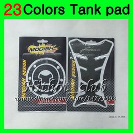 China 23Colors 3D Carbon Fiber Gas Tank Pad Protector For HONDA CBR600RR 03 04 05 06 CBR600 RR CBR 600 RR 2003 2004 2005 2006 3D Tank Cap Sticker cheap honda cbr gas cap suppliers
