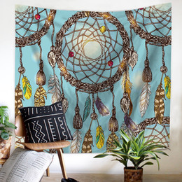 $enCountryForm.capitalKeyWord Canada - 150X130cm,200x150cm Indian Tapestry Feather 3D Digital Printing Mat Shawl Wall Hanging Decorative Tapestry Picnic Blanket Mats 150X130cm