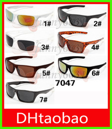 Discount pc free - brand new hot sale men sunglasses sports spectacles women goggle glasses Cycling Sports Outdoor Sun Glasses 7colors free