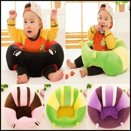 Discount baby alphabet learning - Stylish Portable Dining Chair Small Sofa Plush Toys Soft and Comfort Baby Learning Chair Baby Safety Seat