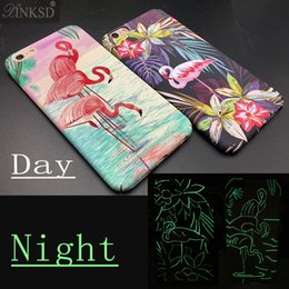 Fashion Hard Colorful Flamingo Case Cover per iPhone8 X 6 6S 7Plus Custodia in plastica opaca per telefoni cellulari Fundas Capa Original Ostrich Natural Skin