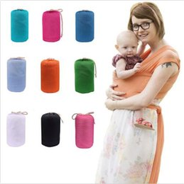 Wholesale Infant Breastfeed Sling Baby Hipseat Belt Stretchy Wrap Carrier Backpack Bags Baby Back Strap Towel Kids Breathable Carrier Slings B2210